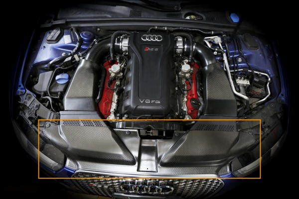Arma Speed Carbon Slam Panel Glanz Audi RS4 / RS5